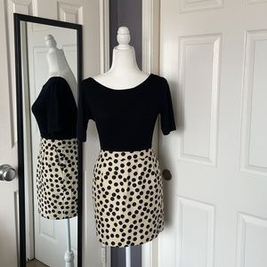 NEW LISTING! J.Crew polka dot mini skirt